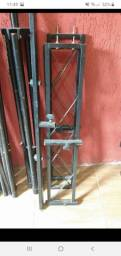 Treliças para Dj goleira galvanizada pedestal