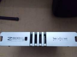 Título do anúncio: Amplificador Studio-r Z-500 muito leve Apenas 5kg com potencia e qualidade manual original