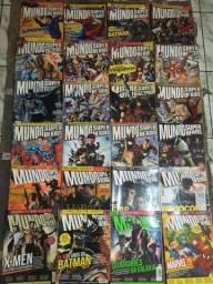 Título do anúncio: Revistas mundo dos super heróis