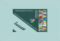 Título do anúncio: ?*Lucav Digital*? Em qualquer meio ?uma comunicação ?completa Estamos nas Redes sociais