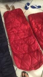 Três sacos de dormir