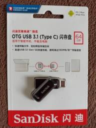 PEN DRIVE SANDISK 64GB DUAL USB 3.1