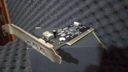 Placa Fire wire PCI chipset VIA