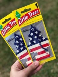 Título do anúncio: Kit 3 Cheirinho P/ Carro Little Trees - Frete Grátis