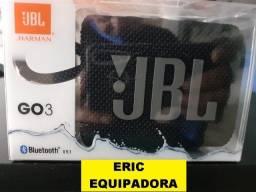 Título do anúncio: Caixa de Som Portátil Jbl Go 3 com Bluetooth e À Prova de Poeira e Água -  Me Liga