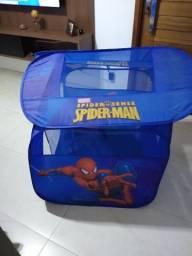 Toquinha homem aranha