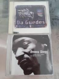 2 CDs de rap: Snoop Dogg - paid tha cost & Da Guedes - cinco elementos