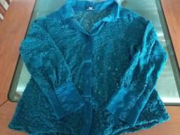 Camisa em Guiper