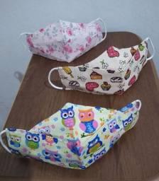 Máscaras Infantis 3D