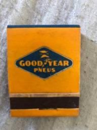 Caixa de Fósforo Antiga - Goodyear - década 50