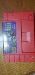 Cartucho Super 100 em 1 do Super Nintendo com 100 jogos