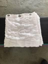 Cortina box banheiro de tecido