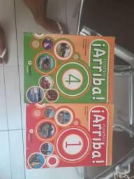 Kit 2 livro didatico espanhol 6 ano e 9 ano