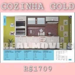 Armário de cozinha Gold