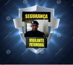 Segurança e vigilante patrimonial