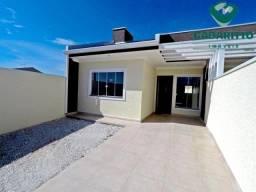 Casa à venda com 2 dormitórios em Gralha azul, Fazenda rio grande cod:91062.005