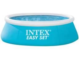 Título do anúncio: Piscina Infantil Inflável Intex 886L - Redonda Easy Set