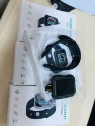 Relogio Inteligente Smartwatch D20 Bluetoot Lacrado Pronta Entrega!