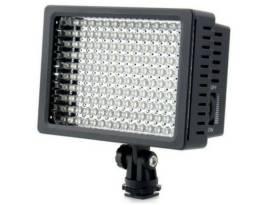 LED iluminador profissional de 160 leds para Canon e Nikon