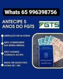 Título do anúncio: Atencipaçao do Saque aniversário FGTS