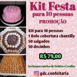 Kit festa PROMOÇÃO