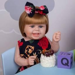 Título do anúncio: Boneca Bebê Reborn corpinho todo em vinil silicone macio
