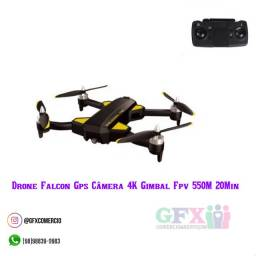 Título do anúncio: Novidade: drone Falcon 4K Gimbal FPV
