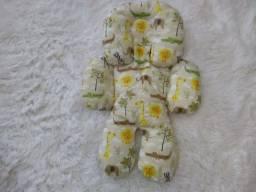 Almofada de bebê conforto + protetor de cinto