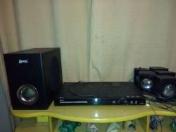 Home Teather Lenox com 5 caixas + controle