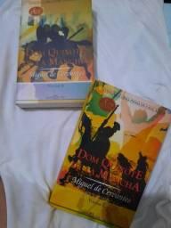 Livros Dom Quixote  de La  Mancha (volumes