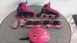 Patins Completo Rosa