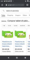 Tablet educacional Dl sabichões