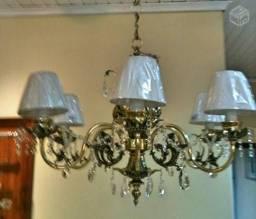 Reforma, conserto e restauração de Lustres e Luminárias