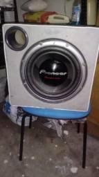 Sub Pioneer cara preta 1400 e modulo sony 1600