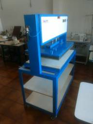 Prensa Térmica Pneumática 50x80cm 1 Bandeja