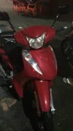 Biz 125 ES vermelha - 2011