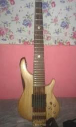 Contra baixo luthier 6 cordas headlles.