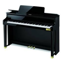 Piano Hybrido digital Casio. Um piano de acustico em forma de digital