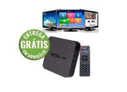 Tv Box android MXQ-4k Memória 1giga ram e 4giga rom - entrega gratis