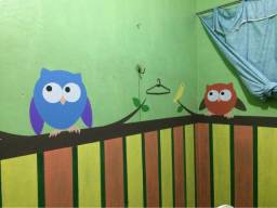 Pintor de desenhos infantis