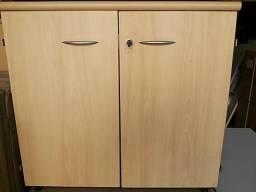 Armário marca security fabricação em madeira com 2 portas 1 prateleira