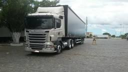 Scania R 440 2012 6x2 e Carreta Sider 2016, Unico Dono - 2012