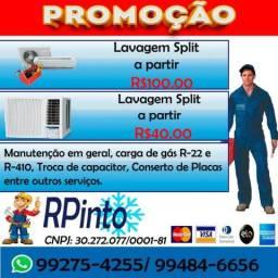 RPinto Climatização, Promoção lavagem split
