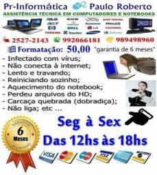 Recuperação de carcaças de notebook com 6 meses de garantia: de 60,00 a 80,00
