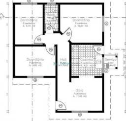 Casa com 3 dormitórios à venda, 69 m² por R$ 180.000 - Jardim Guaporé - Ourinhos/SP
