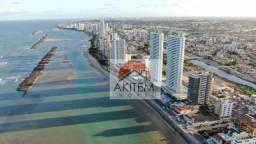 Apartamento com 04 quartos, 03 suítes e lazer fantástico a beira mar de Olinda