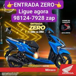 HONDA ELITE 125 FINANCIAMENTO entrada ZERO