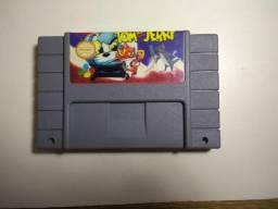 Jogo Super Nintendo Tom & Jerry