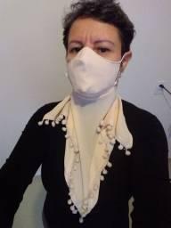 Máscara lenço