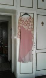 Vestido de festa rosado
